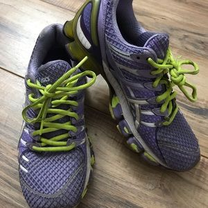 ASICS purple running shoes size 8